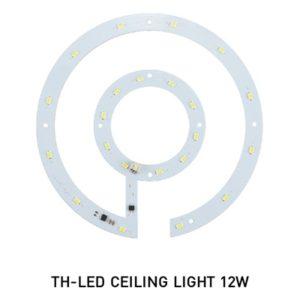 หลอด LED กลม 12w โคมติดเพดาน DOB EVE