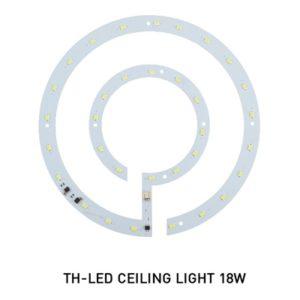 หลอด LED กลม 18w โคมติดเพดาน DOB EVE