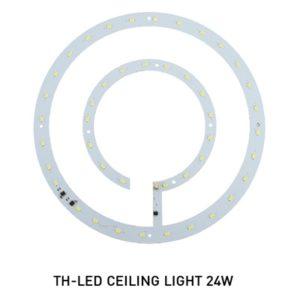 หลอด LED กลม 24w โคมติดเพดาน DOB EVE