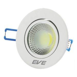 โคมดาวน์ไลท์ LED ปรับองศาได้ หน้ากลม