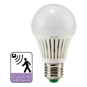หลอด LED 7w เซ็นเซอร์จับการเคลื่อนไหว EVE