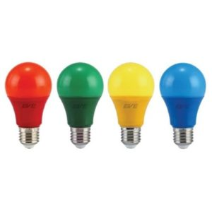 LED Bulb A60 Color 6w EVE