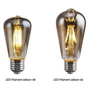 LED E27 Filament Adison 4w EVE