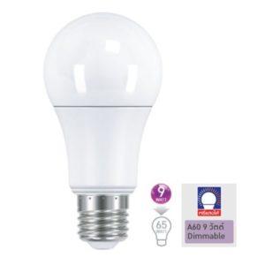 หลอด LED Bulb E27 9w Dimmable หรี่แสงได้ แสงเดย์ไลท์, วอร์มไวท์ EVE